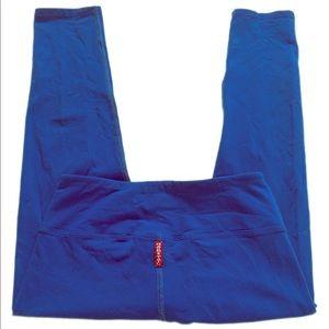Hard Tail Royal Blue Crop Pant size XS